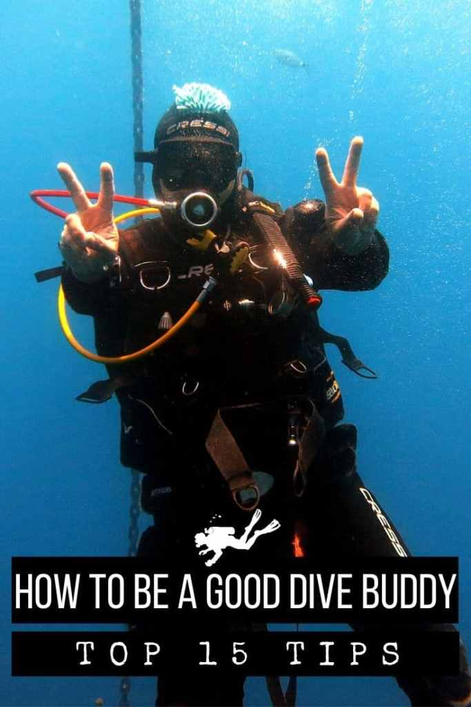 How to be good dive buddy