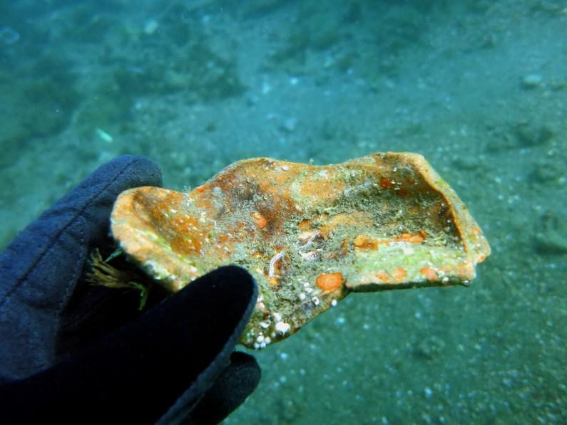 ninfeo claudio scuba diving underwater archeological park Baia
