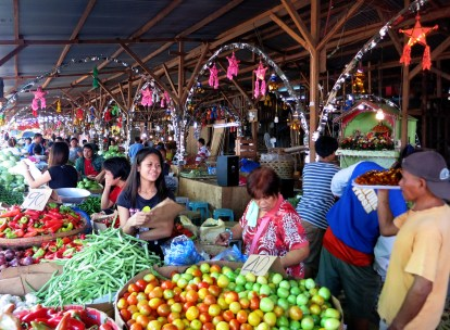 Carbon market Cebut city Philippines