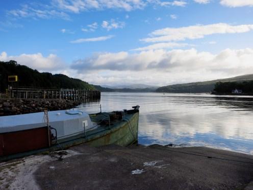 Lochaline harbour Scotland