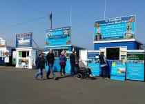 Farne Islands tours Seahouses England UK