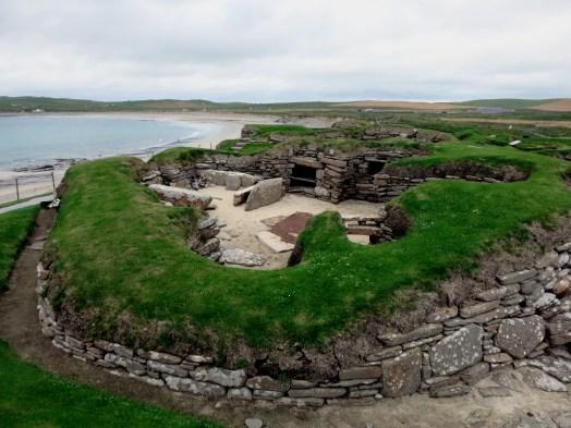 Skara Brae Neolithic Village Orkney Scotland