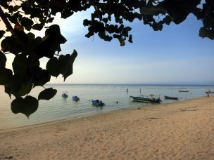 Nusa Lembongan Jungut Bath Bali Indonesia