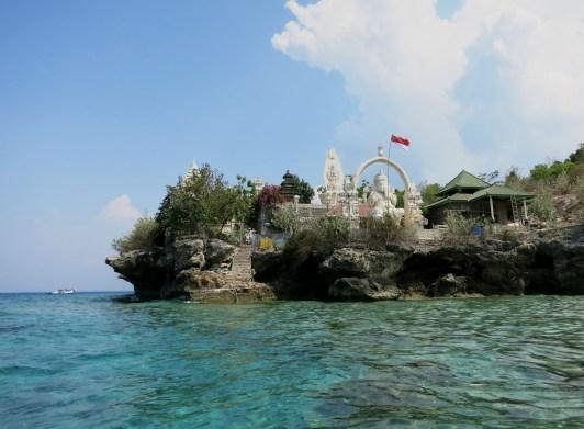Ganesh Temple Menjangan Island Bali Indonesia