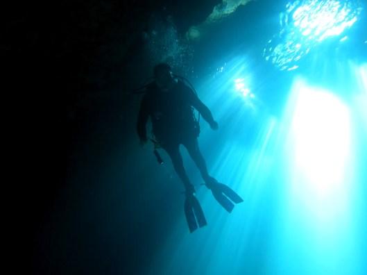 Devil's Den Scuba diving Cavern Cave Williston Florida USA