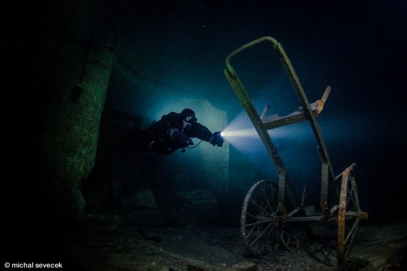 Scuba diving Kobanya Budapest Hungary credit Michal Sevecek
