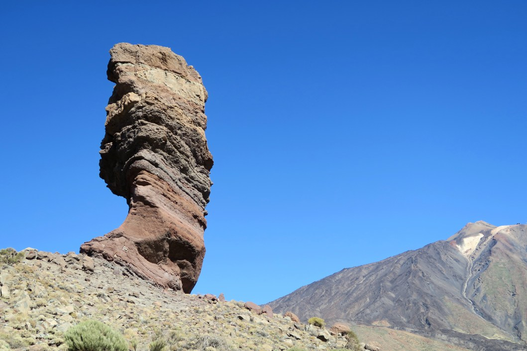 Roque Cinchado Teide National Park Tenerife Canary Islands