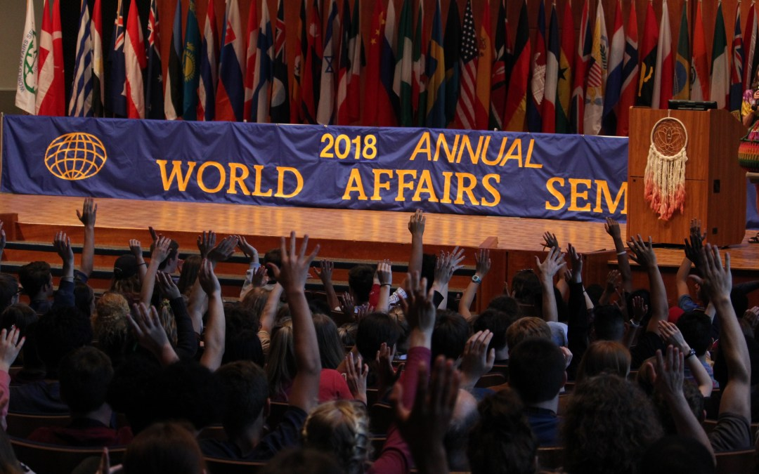 Seminar Agenda 2018