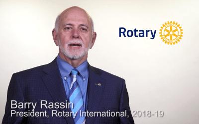 RI President 18-19 Barry Rassin Addresses 2018 Seminar
