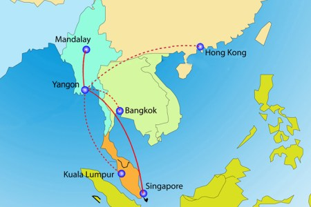 singapore airline route map » Path Decorations Pictures | Full Path ...