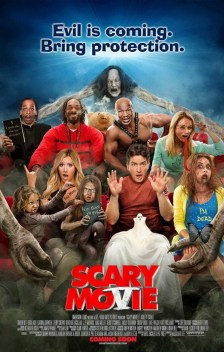 Scary Movie 5 (2013) Genre : Comedy A couple begin to experience some unusual activity after bringing their newborn son home from the hospital. With the help of home-surveillance cameras and a team of experts, they learn they're being stalked by a nefarious demon. Director: Malcolm D. Lee Stars: Simon Rex, Ashley Tisdale, Charlie Sheen, Lindsay Lohan