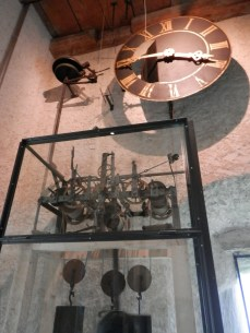 The old city clock can be found in the Zyt tower.