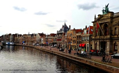 Downtown Haarlem - quaint, old, beautiful. Photo by David Greer.