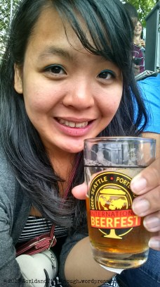 The Beerfest glass is different every year! I'm starting a collection...