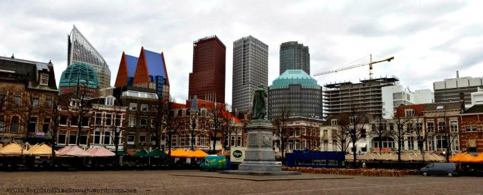 The Hague -- like a cross between Haarlem and Rotterdam.