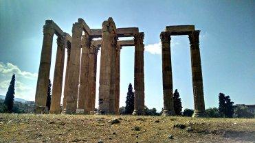 The Temple of Olympian Zeus.