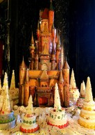 Gingerbread castle at the Westin St. Francis