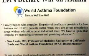 Let's Declare War On Asthma