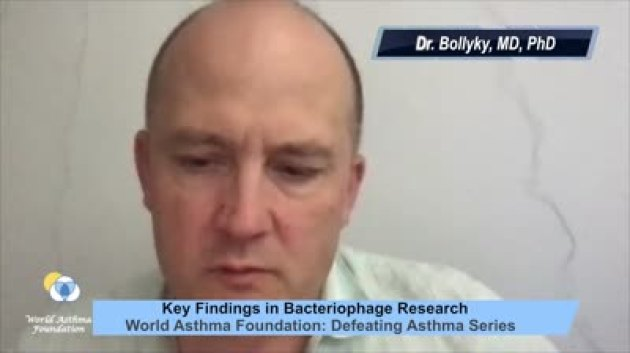 Dr. Bollyky introduces bacteriophages, impact on chronic bacterial infections, airway inflammation and asthma