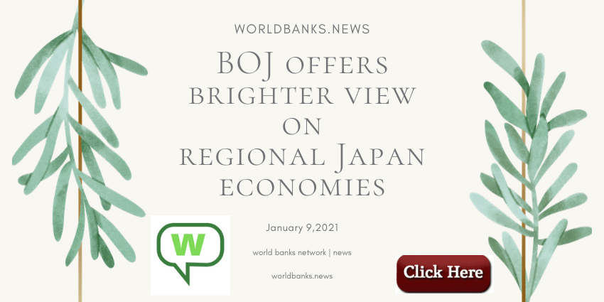 BOJ offers brighter view on regional Japan economies