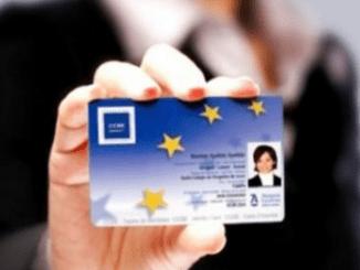 европейска професионална карта