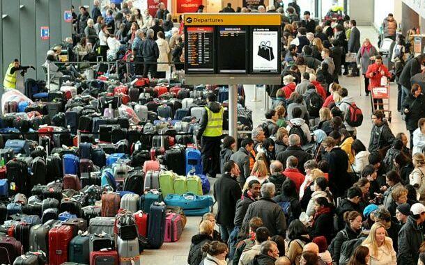 хаос по световните летища