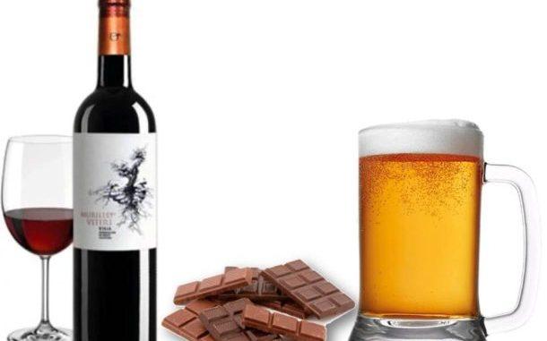 вино и шоколад