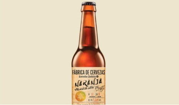 бира с аромат на портокали