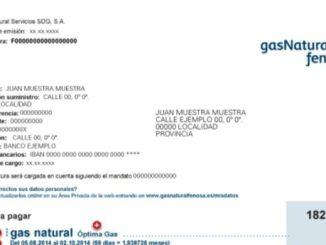 цената на газта за потребителите в Испания