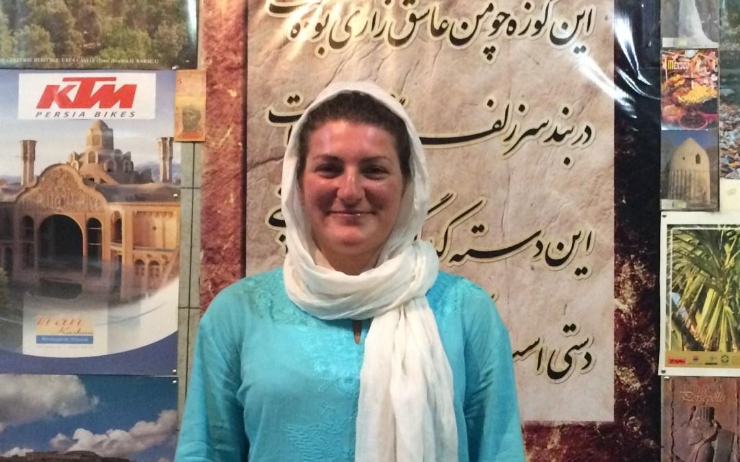 Arriving in Tehran