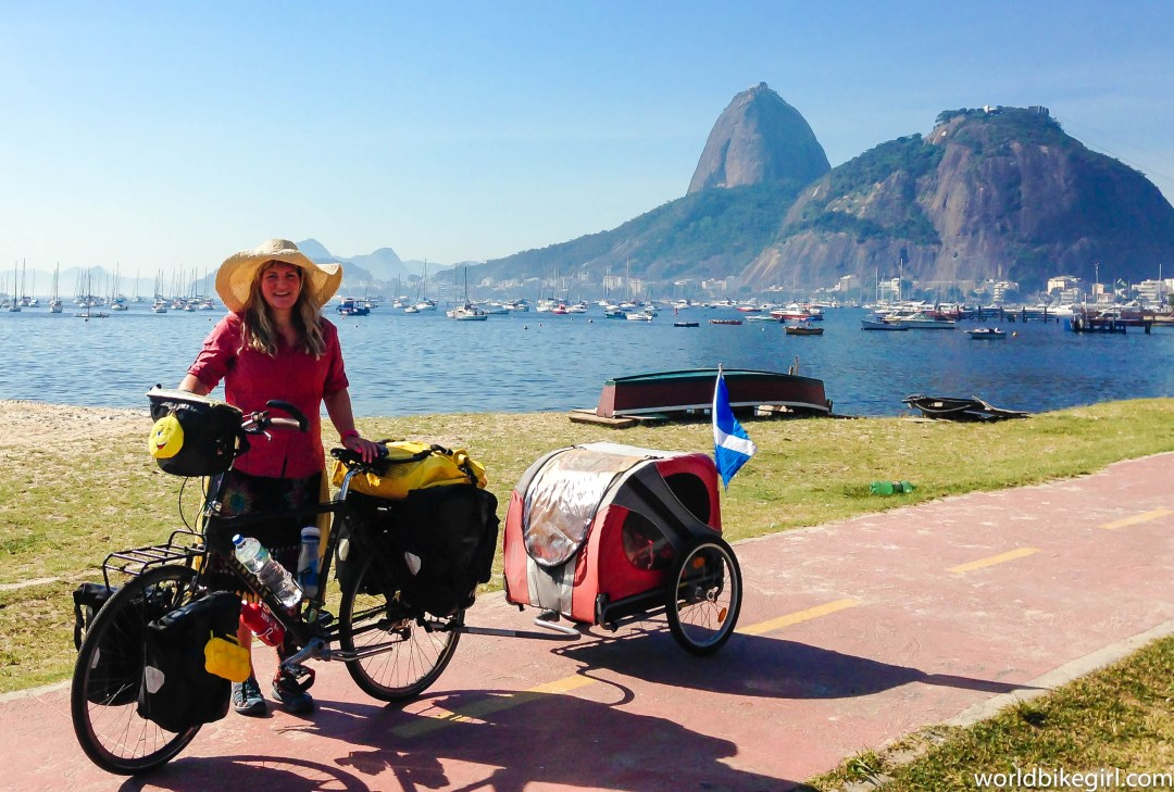 Me & Bike in Rio, Brazil