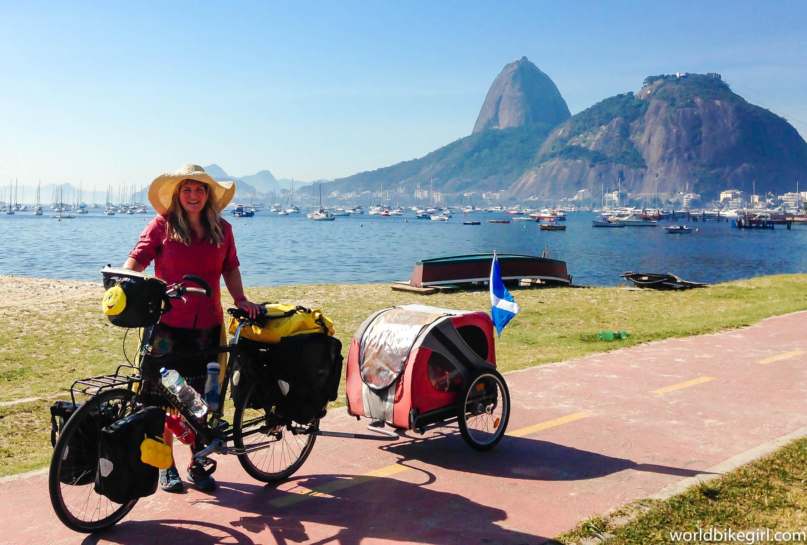 Me & Bike in Rio, Brazil