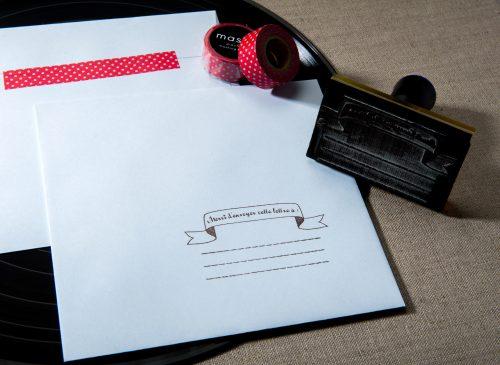 faire-part de mariage | Création: Le Studio de Julie© | Photo: Sage comme des Images©