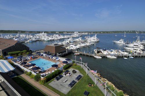 Montauk Yacht Club, Resort & Marina - Aerial View