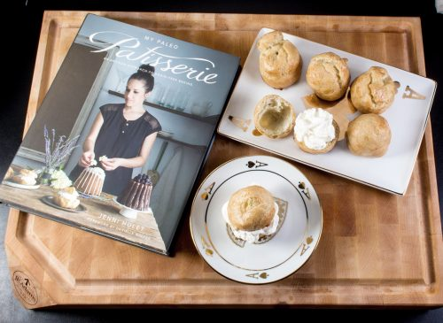 My Paleo Patisserie Jenni Hulet Choux Pastry Cream Puff