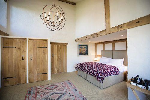 Dewsall Court bedroom