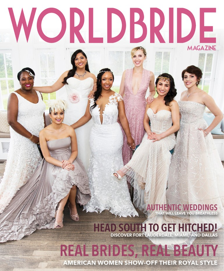 Real Brides, Real Beauty Cover