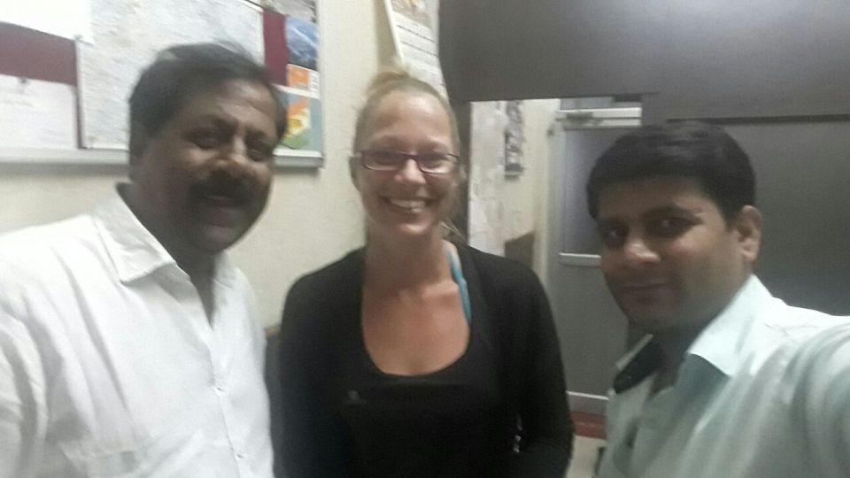 Ashok und Manisk von Ashok's Taxi Tours, Delhi
