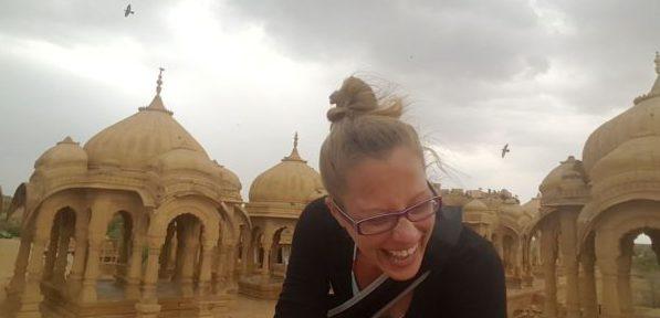 Zwei Tage Burgfräulein in der Goldenen Stadt Jaisalmer, Rajasthan