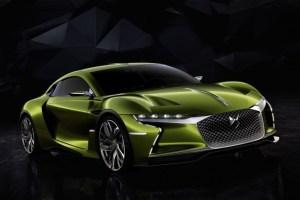 シトロエンが次世代電気自動車。e-tenseを公開。