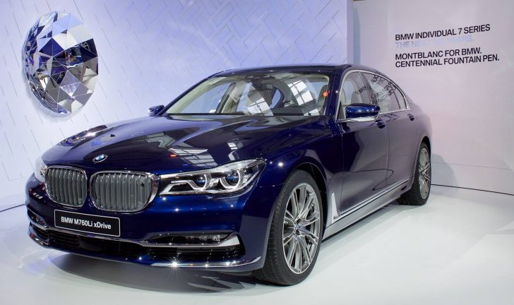 BMW Individual 7 Series THE NEXT 100 YEARSのフロント画像