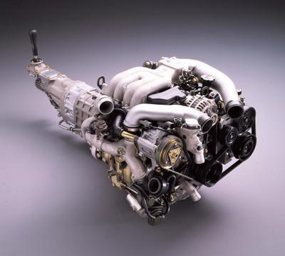 FD型Rx-7のロータリーエンジン