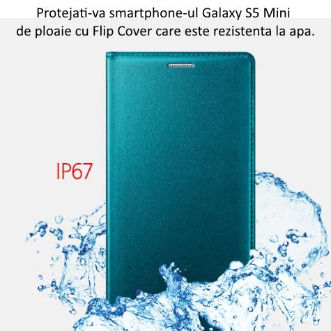 Husa de protectie Flip Wallet pentru Samsung Galaxy S5 Mini (G800) 2