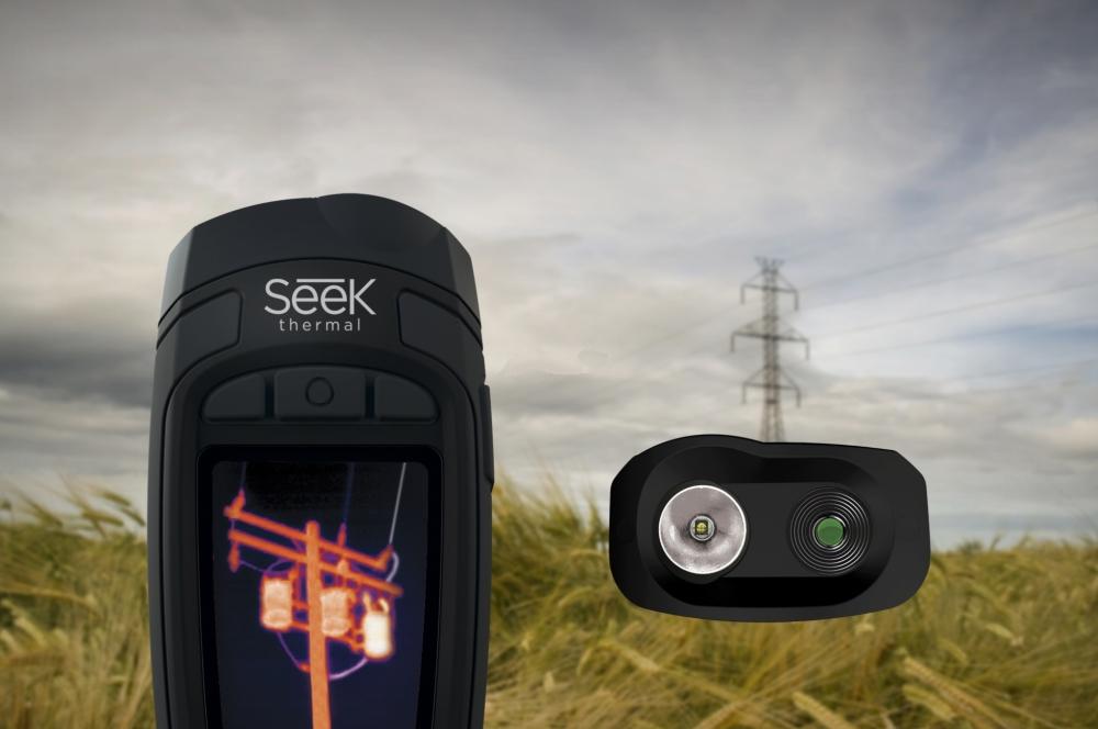 Camera cu termoviziune Seek Thermal Reveal XR FastFrame, RT-EBAX Pure Black 1