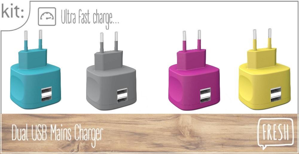 incarcator-retea-kit-fresh-3-4a-dual-usb-2-0-ultra-fast-charge