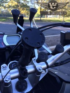RAM_Mount_on_motorcycle-Worldcrosser-logo