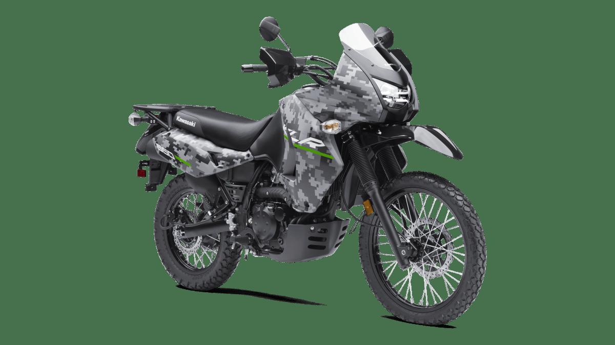 New 2016 Kawasaki KLR650 Camo Version