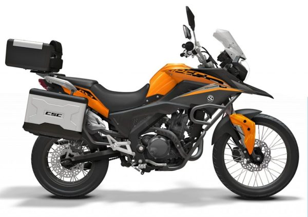 CSC ADV Adventure motorcycle is an affordable option