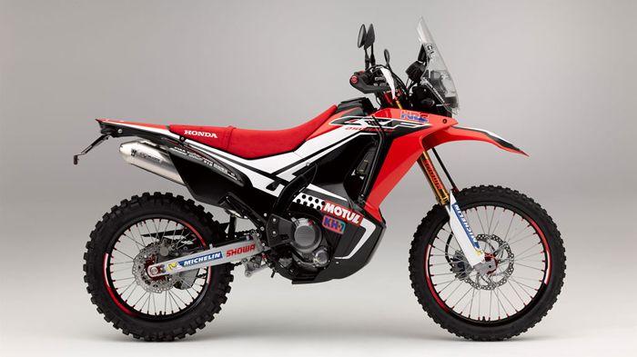 Honda CRF250 Rally ADV motorcycle