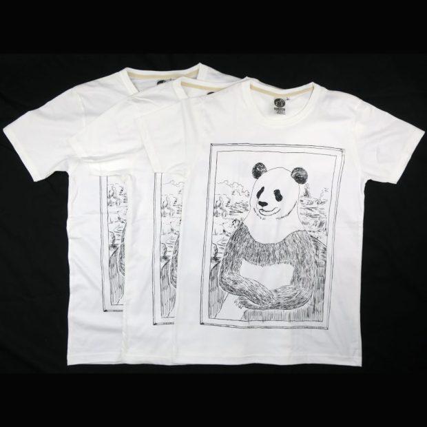 「パナ・リザ」Tシャツ S,M,L